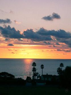 Sunset at Pt Dume WM.jpg