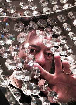 Self in chandelier.jpg