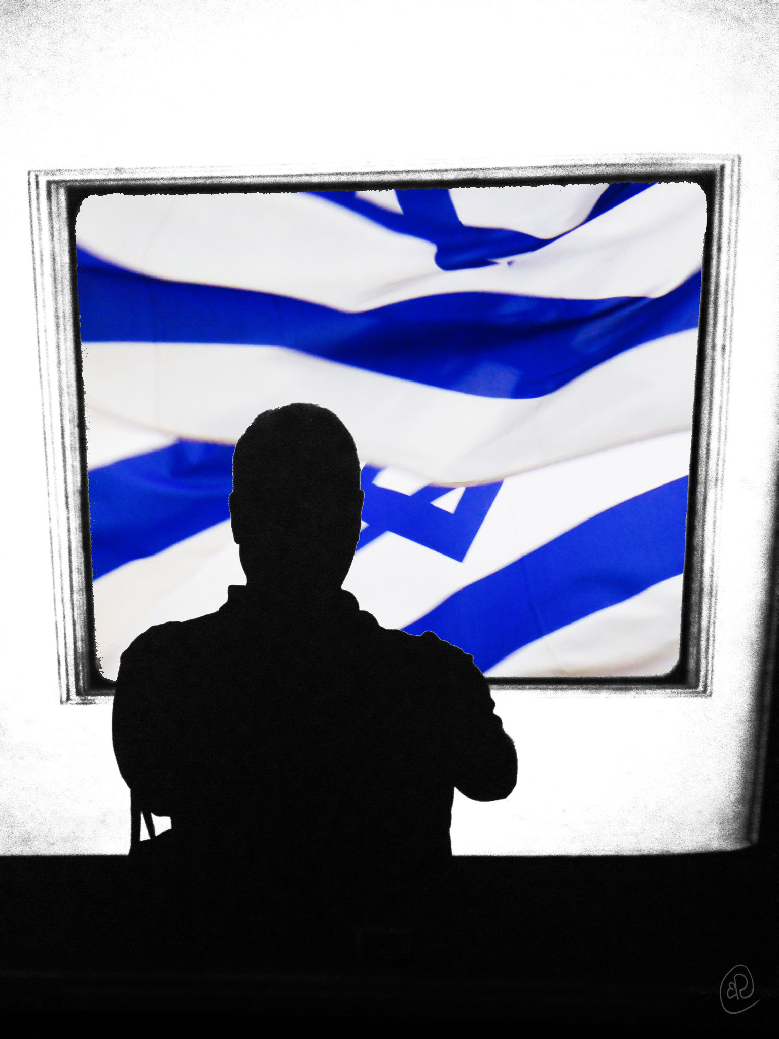 Selfie with Israeli Flag.jpg