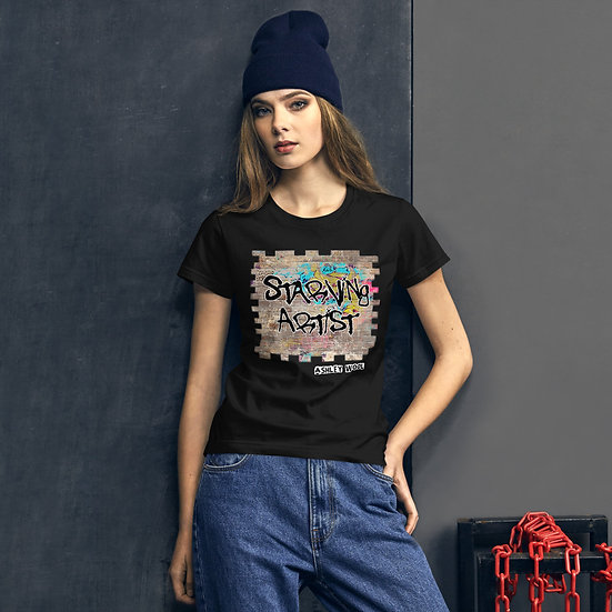 Starving Artist Graffiti Graphic Fashion Tee