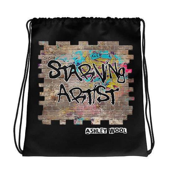 Starving Artist Drawstring Bag