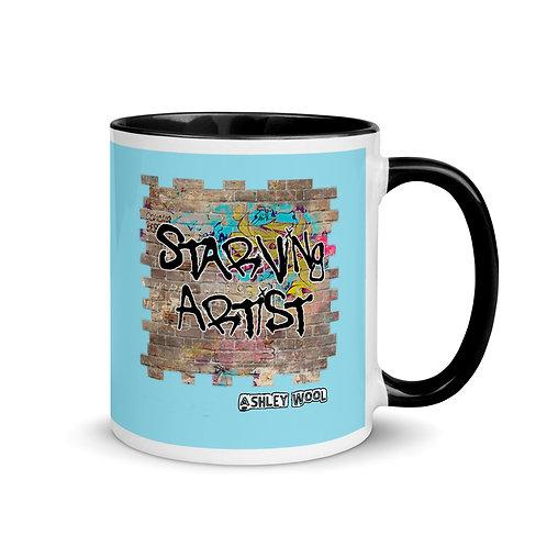Starving Artist Graffiti Graphic Mug