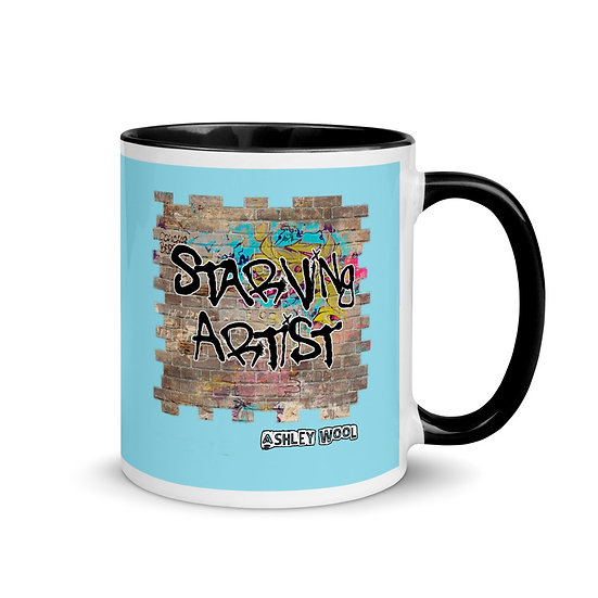 Starving Artist Graffiti Graphic Mug