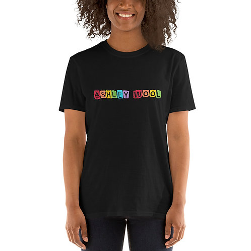 Ashley Wool Black Rainbow Unisex Shirt