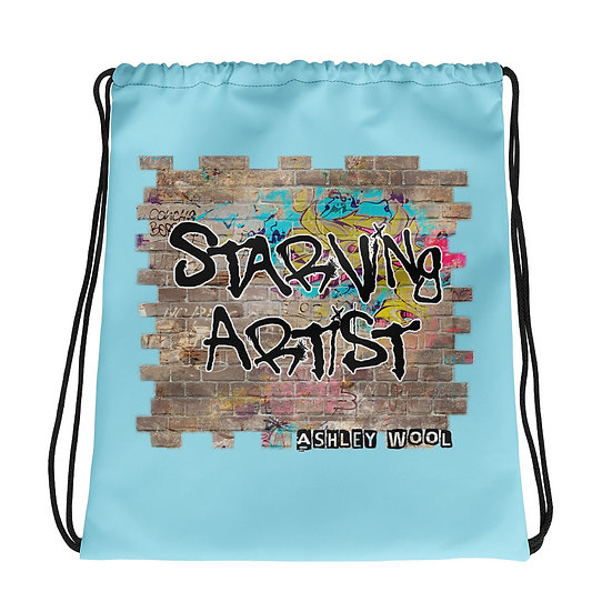 Starving Artist Drawstring Bag