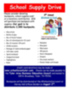 2018 School Supply Drive Flyer updated.j