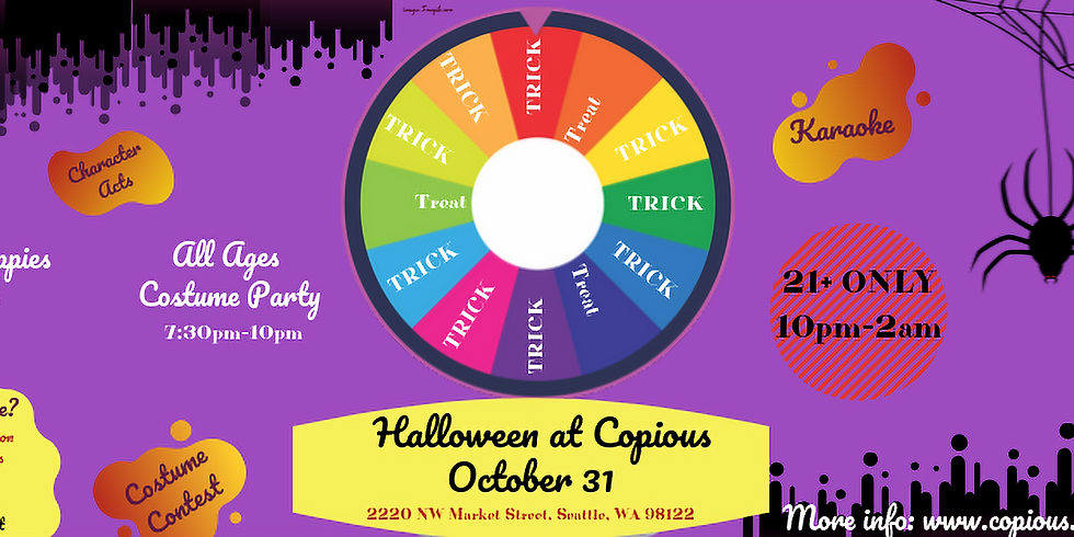 Halloween at Copious! [Party]