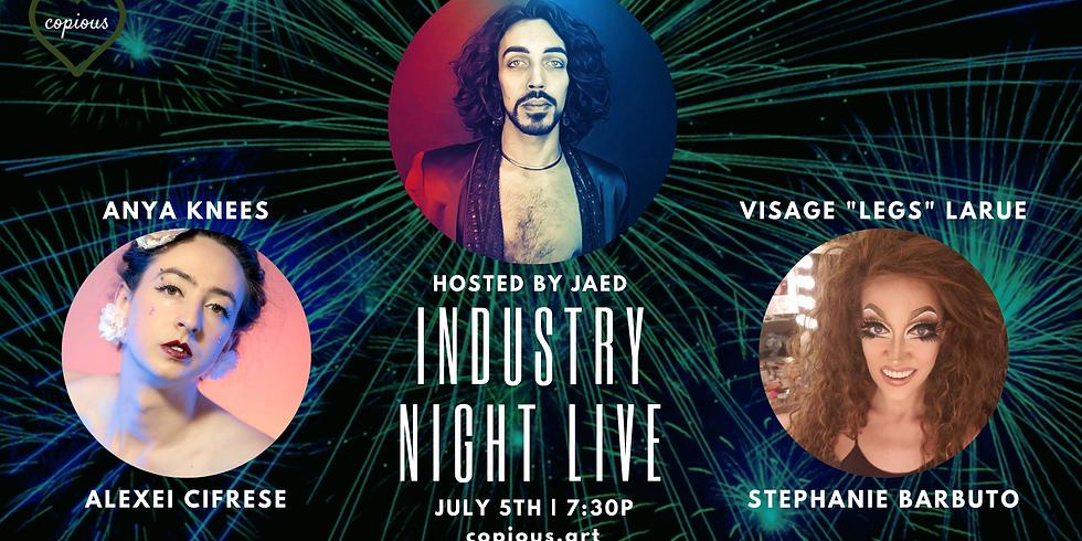 INDUSTRY NIGHT LIVE w/ JaeD [Talk Show]