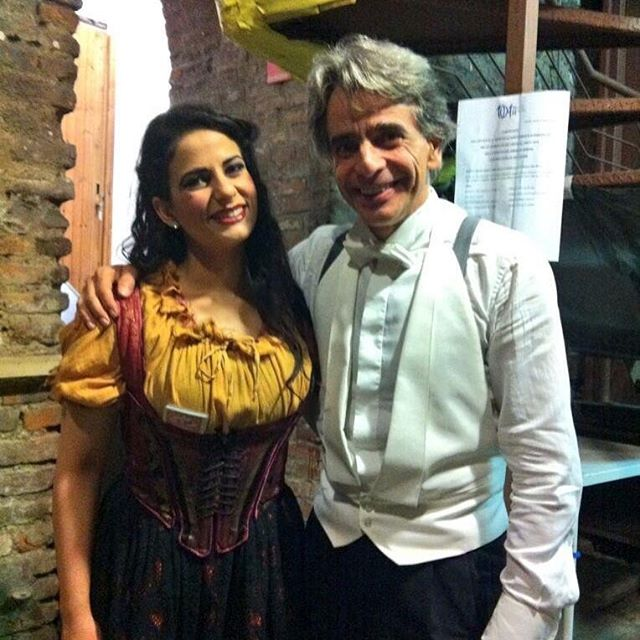 Alice Marini tonight as Mercedes in Bize