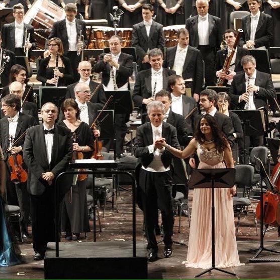 Alice Marini at Verona Philharmonic Thea
