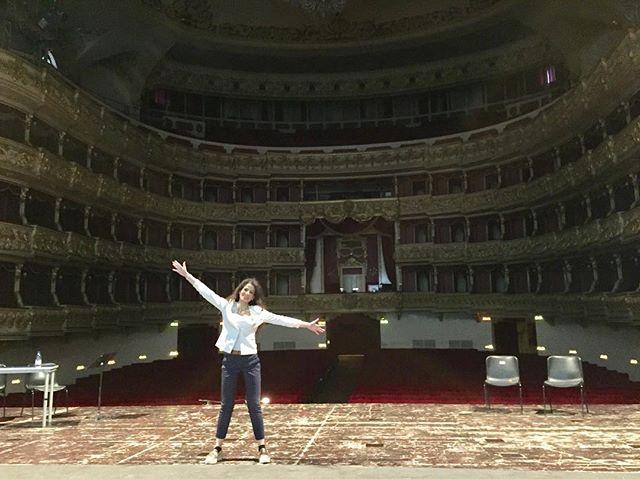 Finally at the Verona Philharmonic Theat