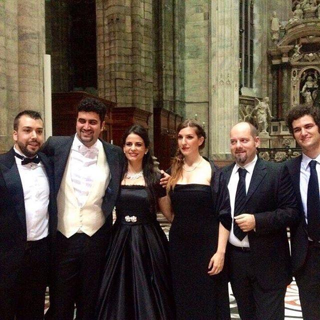 Alice Marini make her debut in Verdi's M