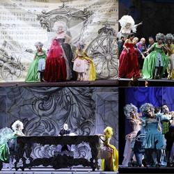 "Some shots from Rossini's ""La Cenerentol"