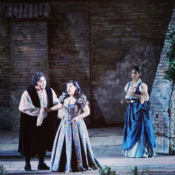 Tonight my 4th performance in Verdi's Ri