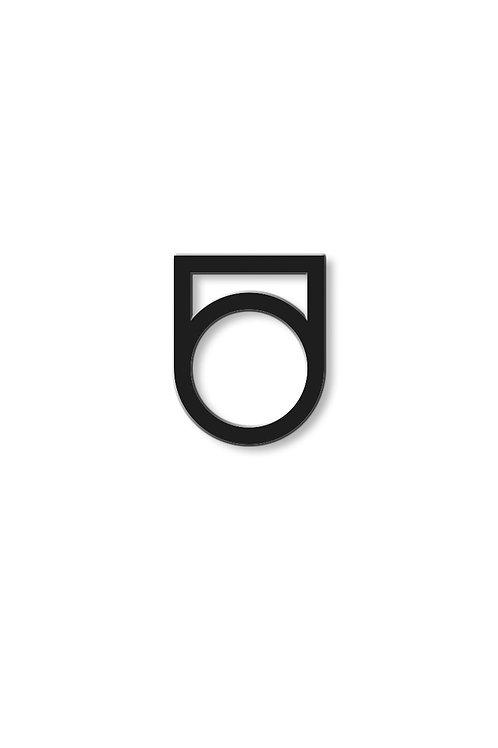 Prsten vysoký s otvorem