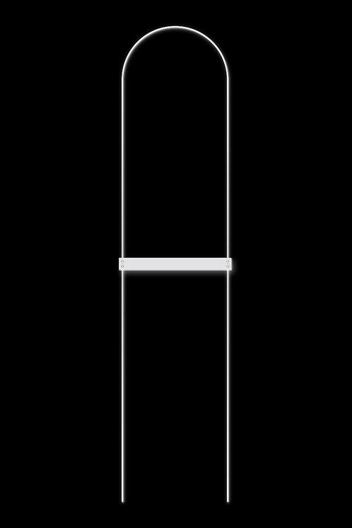 Náhrdelník linie bílá