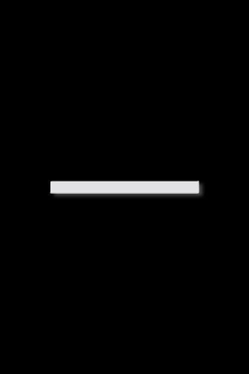Brož krátka linie bílá
