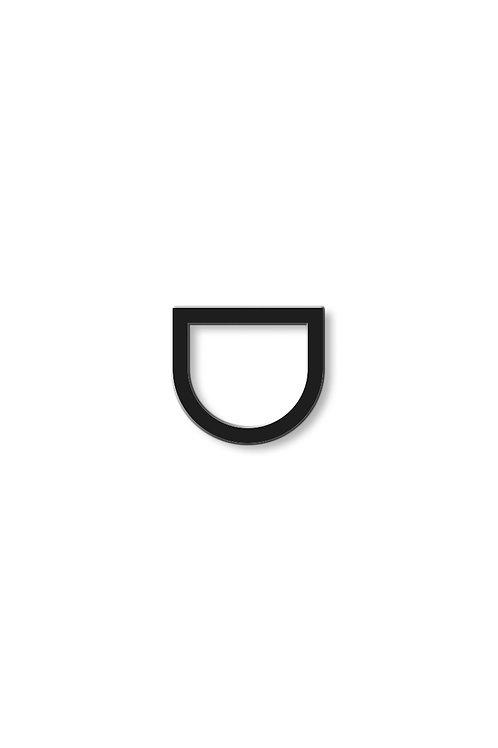 Prsten rovný otevřený