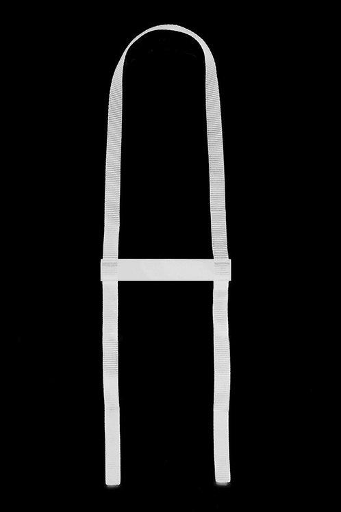 Náhrdelník střední linie bílá