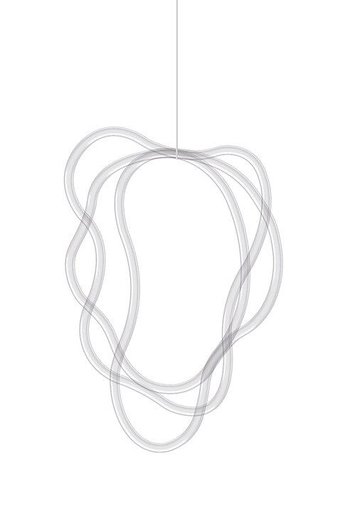 Náhrdelník kombinace 3 linií