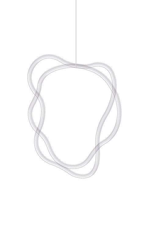 Náhrdelník kombinace 2 linií 2