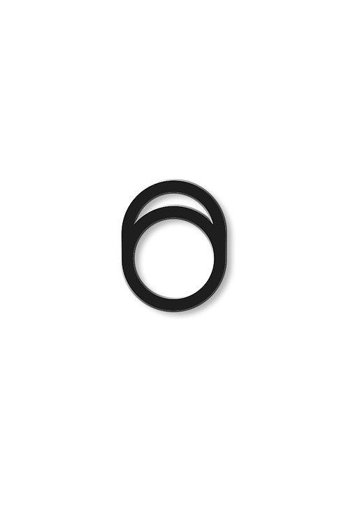 Prsten zaoblený s otvorem