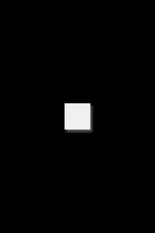 Naušnice čtverec bílý