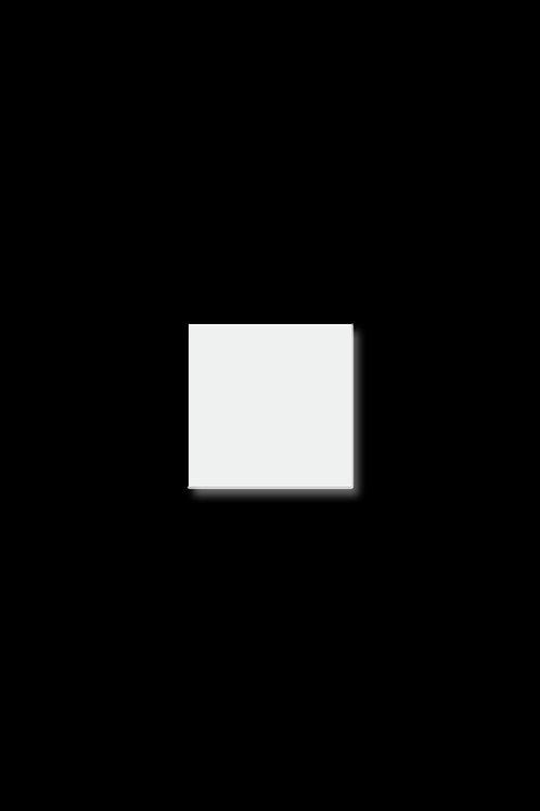 Brož čtverec malý bílý