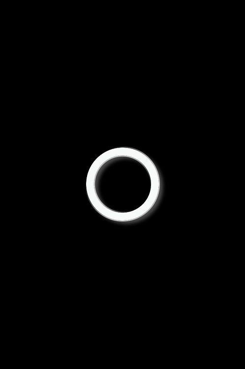 Prsten kroužek bílý