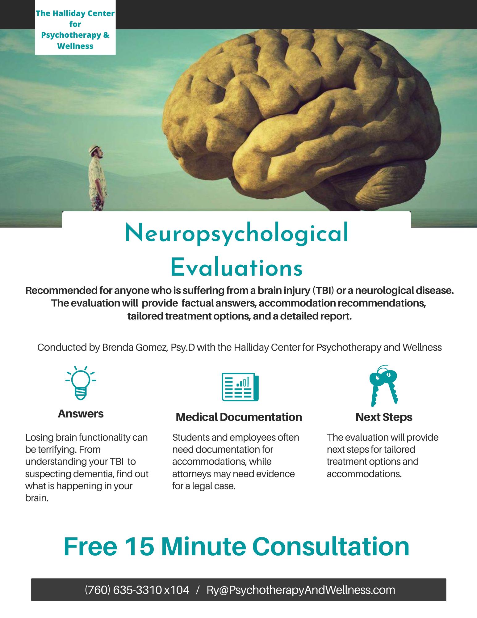 Neuro Tests.THC Website