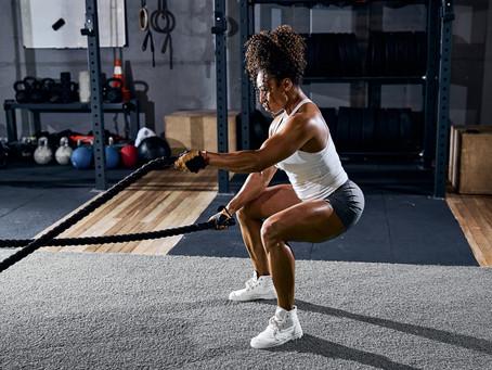 Breathe - Believe - Battle rope exercises