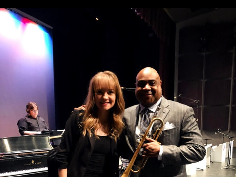 Performing with Terrell Stafford