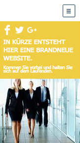 Landingpage website templates – Website im Aufbau