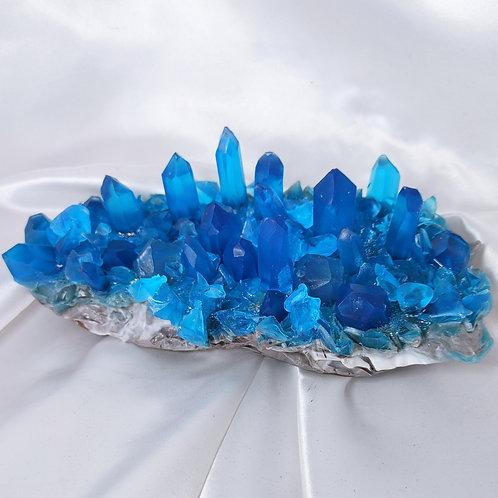 Large Artisan Glycerin Crystal Geode Soap