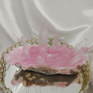 Custom Geode Crystal Soap
