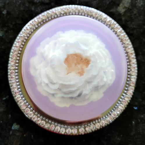 Enchanted Glycerin Flower Soap Cake-Lavender Vanilla