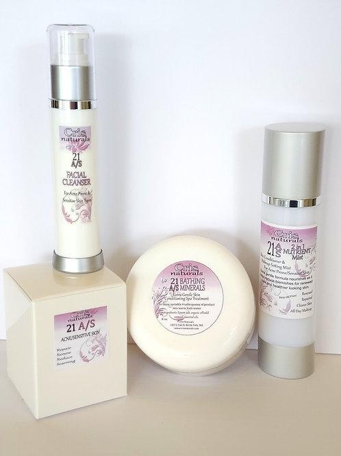 21 Acne & Sensitive Skin Beauty System