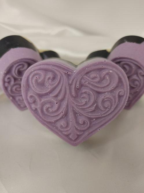 Baroque Heart Artisan Soap