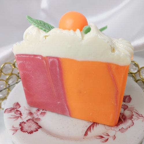 Satsuma Orange & CranberrySoap Cake