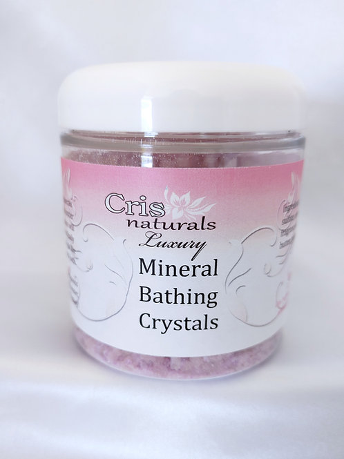 Luxury Mineral Bathing Crystals