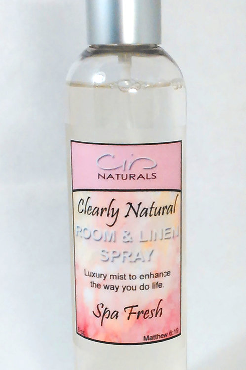 Clearly Natural Room & Linen Spray 25%
