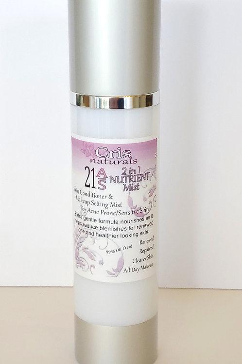 21 A/S (Acne/Sensitive) Nutrient Mist