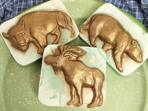 Northwest Series Wildlife Artisan Soap-Set of 3
