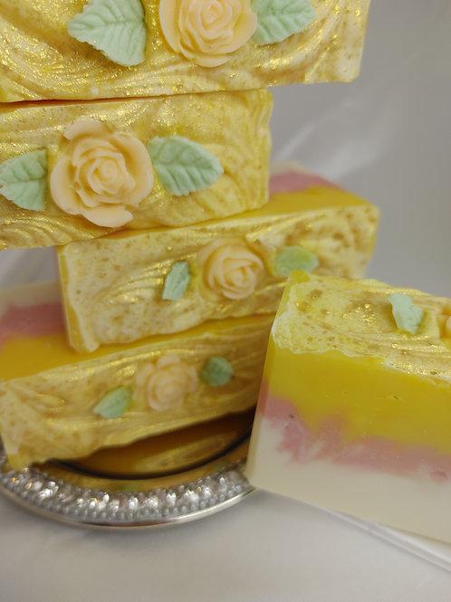 Multi Layer Orange Blossom Artisan Soap