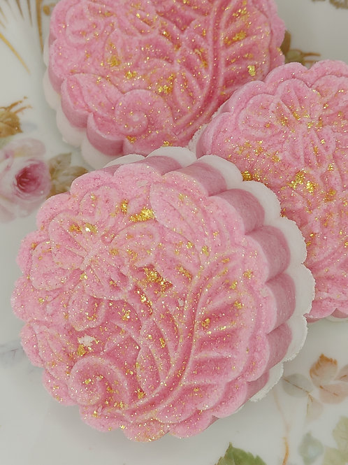 Therapeutic Mini Mineral Bathing Cake 3 Pack