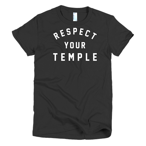 Respect Your Temple classic Men's shirt