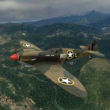 Spitfire IX USAAF 'Kay III'