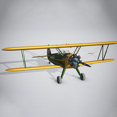 Thunderfly Livery for DC Designs PT-17 Stearman