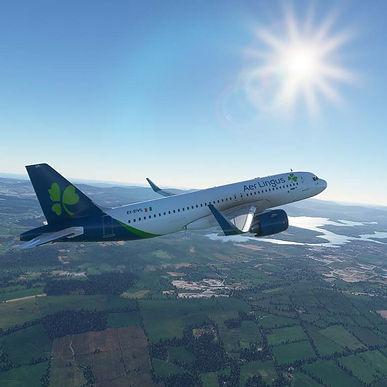 Aer Lingus A321-200 Livery