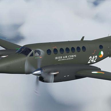 Irish Air Corps Livery for Beechcraft King Air 242